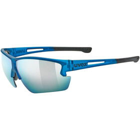 UVEX Sportstyle 812 Glasses blue mat/mirror blue